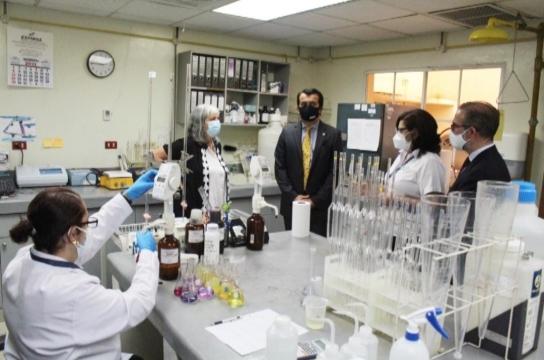 Inauguran ampliación del Edificio de Laboratorio de Calidad de Agua del MARN con apoyo de la Cooperación Española