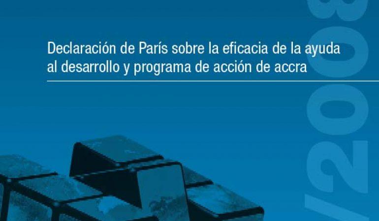 Declaración de París sobre eficacia de la ayuda al desarrollo y agenda de acción de Accra