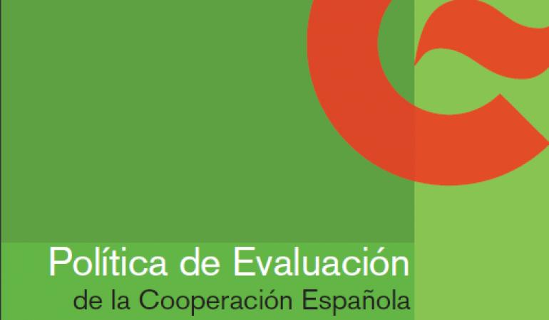 Política de Evaluación de la Cooperación Española