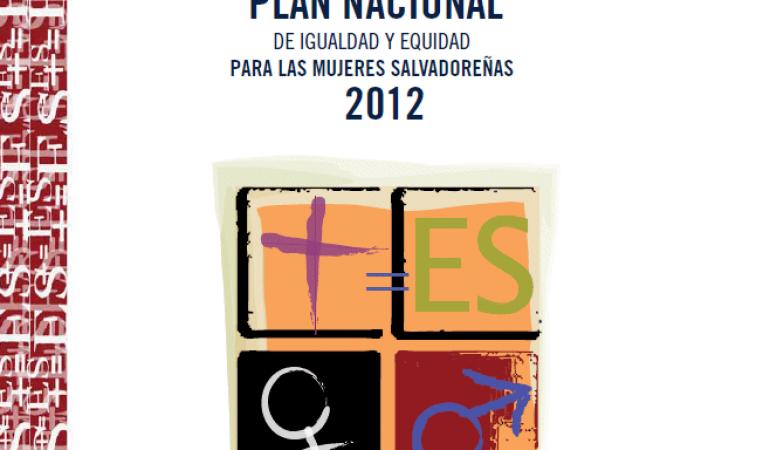 Plan Nacional de Igualdad y Equidad para las Mujeres
