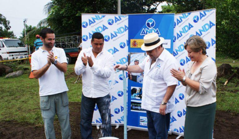 Más de 2.700 personas en el municipio migueleño de San Jorge con acceso a agua potable y saneamiento