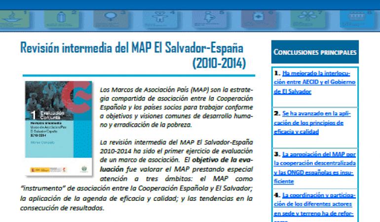 Puntos clave de la revisión intermedia del MAP