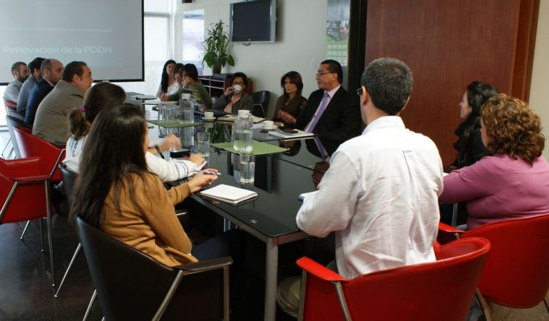 La AECID forma alianza estratégica con la Procuraduría de los Derechos Humanos
