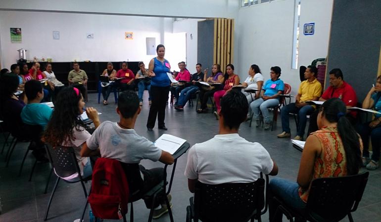 Inicia el curso de formación en Derechos Humanos impartido por el Servicio Social Pasionista