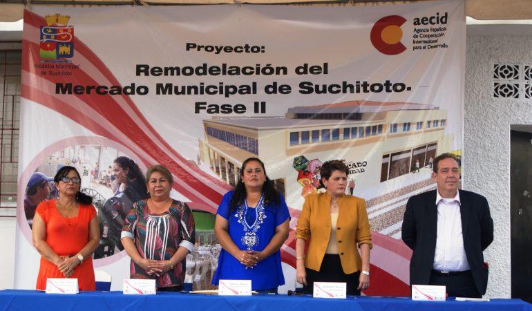 21 familias se beneficiarán con la Fase II de la Remodelación del Mercado Municipal de Suchitoto