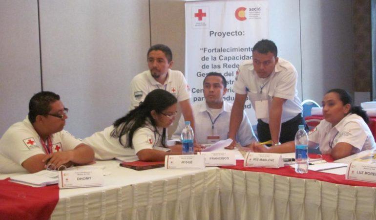 La Cruz Roja Salvadoreña realiza taller sobre medios de vida con apoyo de AECID