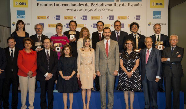Felipe VI entrega los XXXII Premios de Periodismo Rey de España