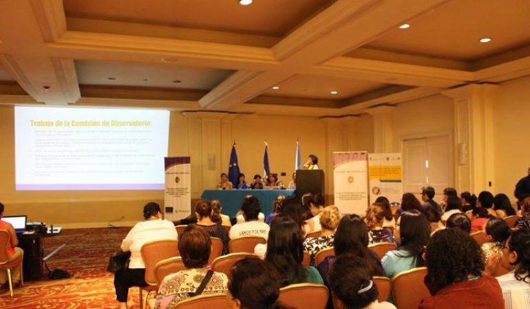 Lanzamiento del Observatorio Nacional para la Igualdad en El Salvador