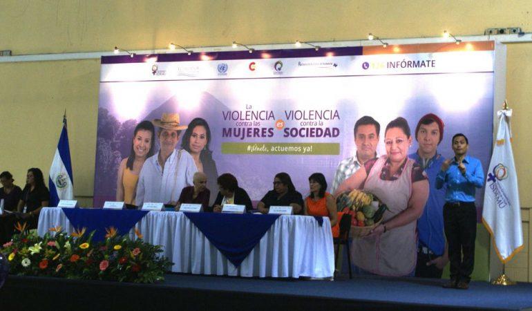 Presentan Informe Anual sobre el Estado y Situación de la Violencia contra las Mujeres 2015