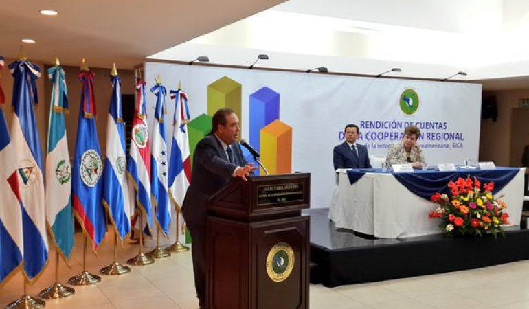 SICA presenta proyectos apoyados por la cooperación regional en el período 2014-2015