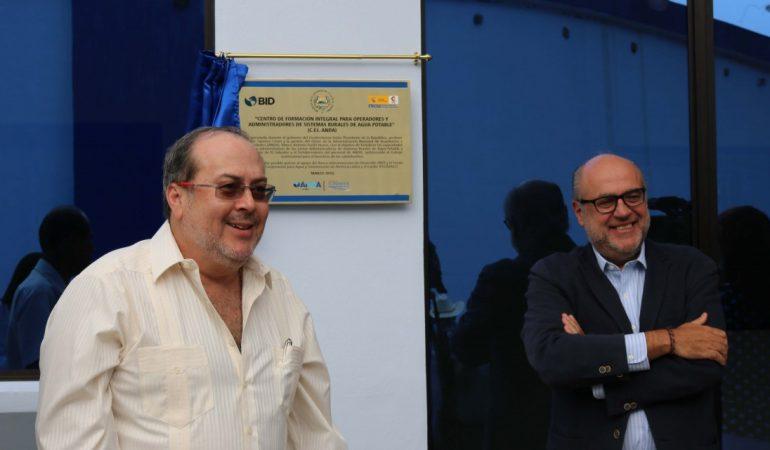 España apoya la formación en Agua mediante la inauguración de un Centro de Formación financiado por FCAS