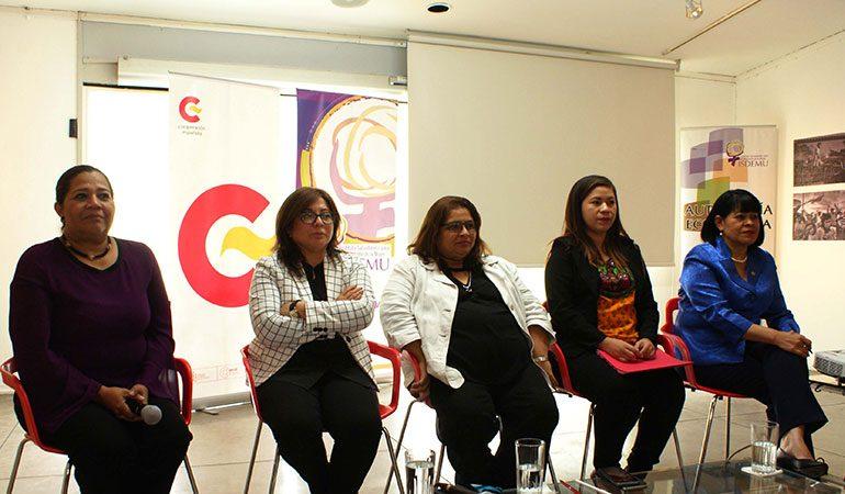 AECID E ISDEMU desarrollaron Foro de Reflexión sobre el Aporte de las Mujeres Salvadoreñas a la Economía del País