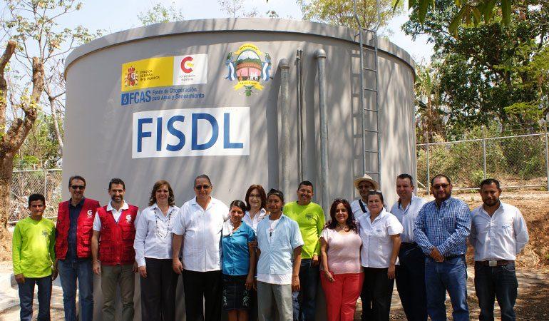 El Salvador es un país prioritario para el Fondo de Cooperación para Agua y Saneamiento (FCAS)