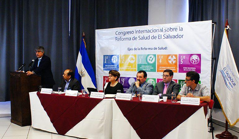 Inauguran Congreso Internacional sobre la Reforma de Salud en El Salvador, con el apoyo de AECID y Medicus Mundi