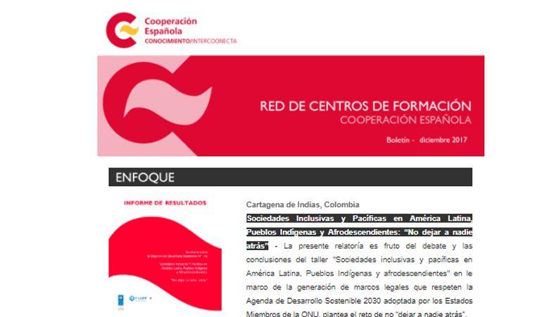 Boletín Intercoonecta Diciembre 2017
