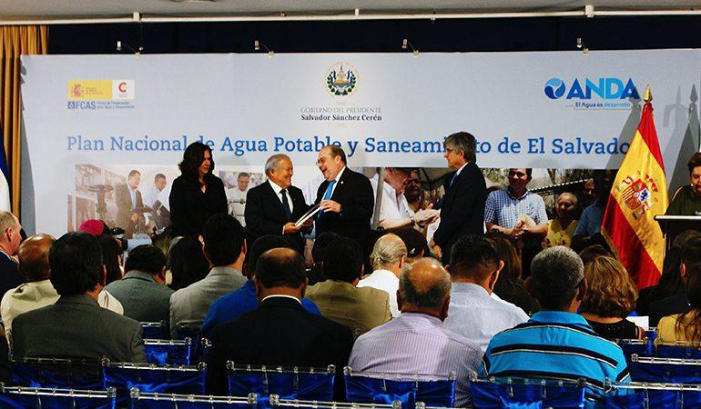 Presentación del Plan Nacional de Agua Potable de El Salvador