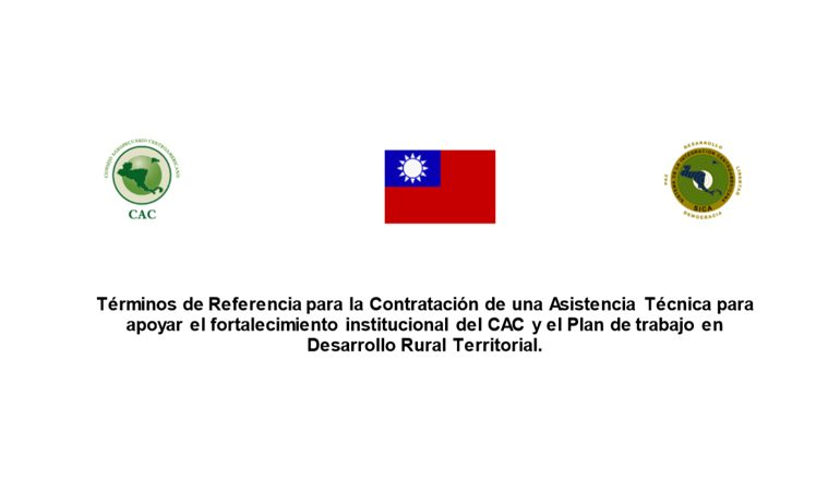 Contratación de una Asistencia Técnica para apoyar el fortalecimiento institucional del CAC y el Plan de trabajo en Desarrollo Rural Territorial