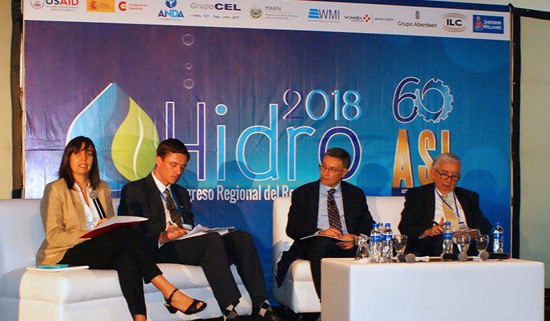 AECID El Salvador participó en la  HIDRO 2018
