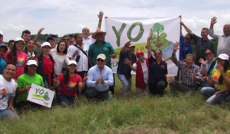 Inicia campaña nacional de reforestación Plantatón 2018