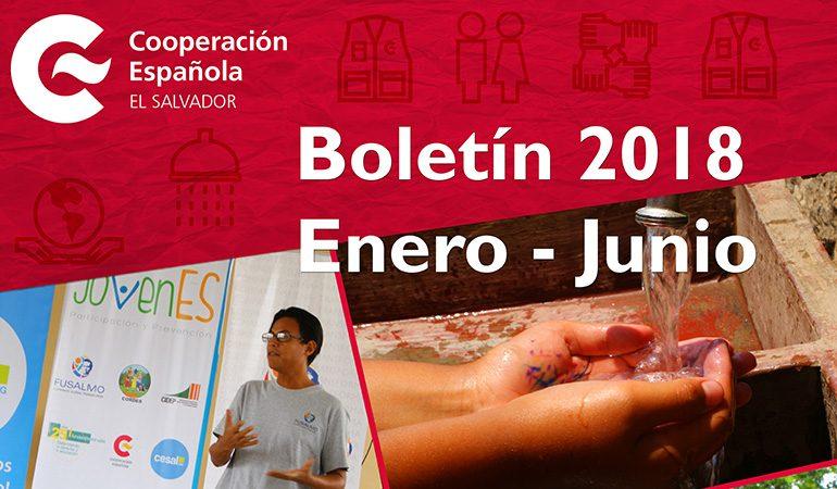 Boletín AECID El Salvador Enero – Junio 2018