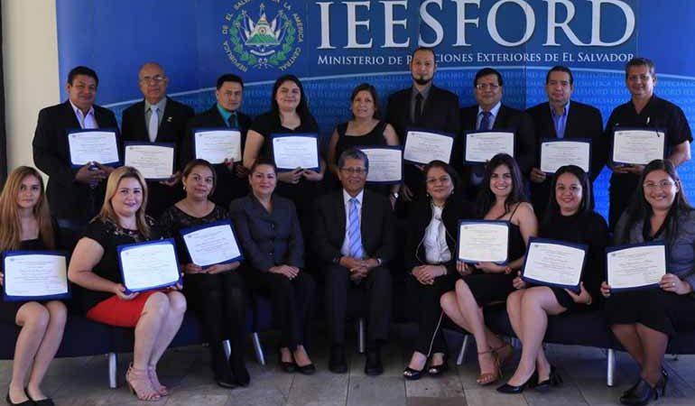 Viceministro Miranda preside clausura de tercera edición de diplomado para actores locales con énfasis en cooperación descentralizada