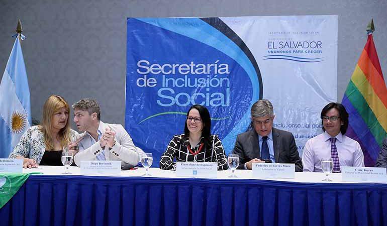 España apoya activamente el respeto, promoción y garantía de los derechos del colectivo LGBTI en El Salvador.