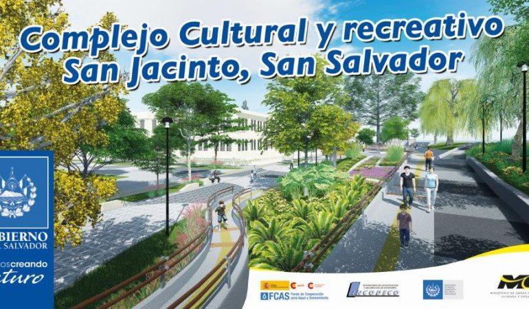La primera fase de la Construcción del Complejo Cultural de San Jacinto finalizará en marzo