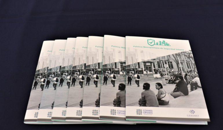 "Lanzan ""Política Metropolitana de Seguridad Urbana"" para AMSS"