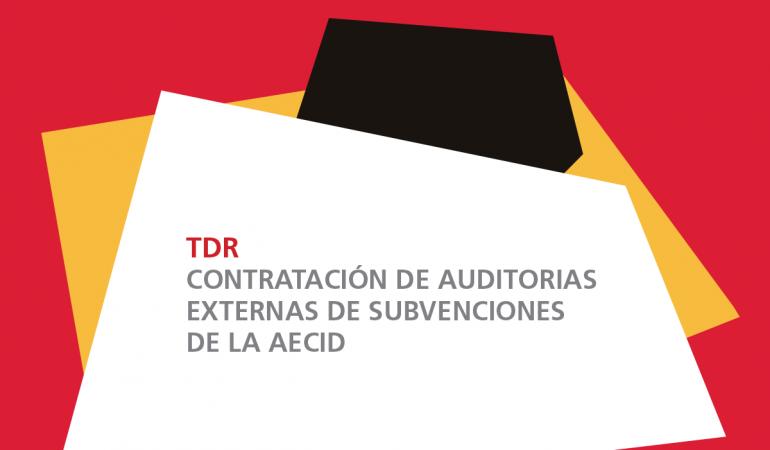 Términos de referencia para la contratación de auditorías externas