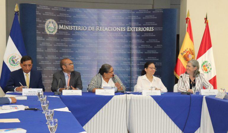 Intercambio de Cooperación Triangular El Salvador, Perú y España en materia de feminicidio