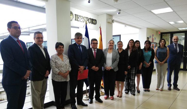 """Embajador de España: """"Para transformar un país, el papel de la administración es clave"""""""