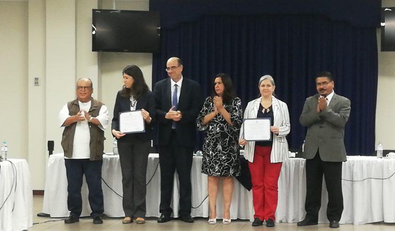 AECID recibe reconocimiento por su apoyo al CONASAV