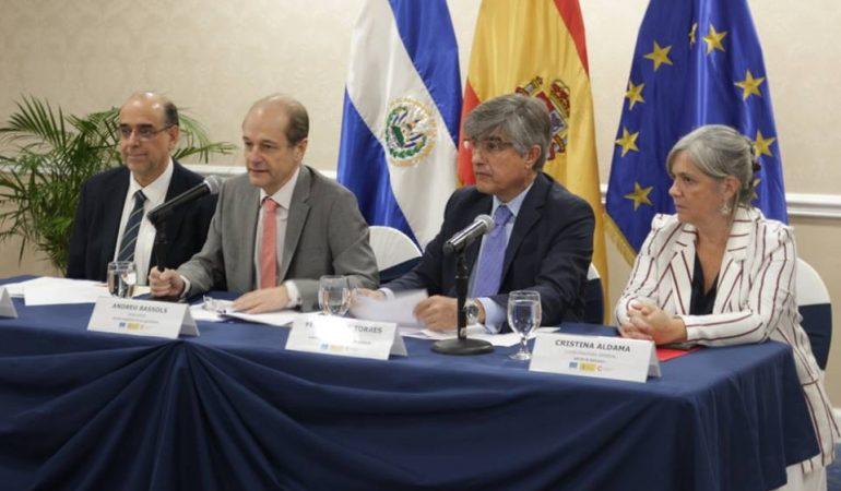 Cooperación Española mantiene apoyo al Plan El Salvador Seguro