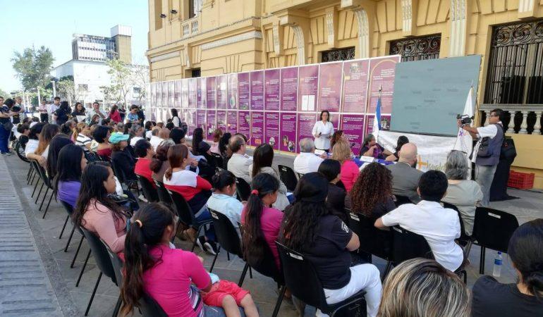 Inauguran exposición de los avances en cumplimiento a la Ley de Igualdad