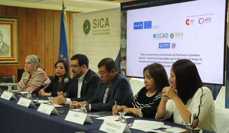 Lanzan proyecto que desarrollará sistemas de alerta temprana de inundaciones y sequías en Centroamérica