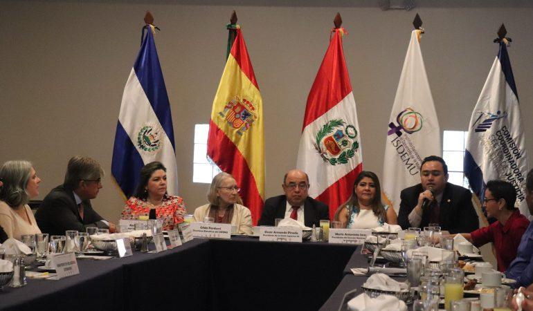 Presentan resultados de proyecto de Cooperación Triangular entre El Salvador, Perú y España