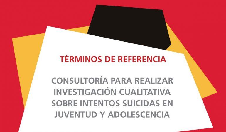 Términos de referencia de proyecto de La Rioja (suicidio en adolescentes)