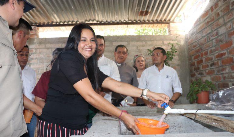 Más de 900 familias beneficiadas con introducción de agua potable en Metalío