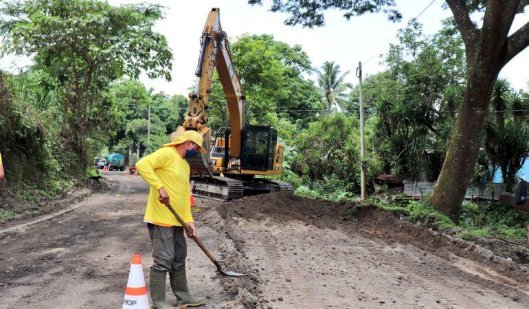 """Inician obras del Proyecto """"Caminos Rurales"""" en El Salvador con apoyo de AECID"""