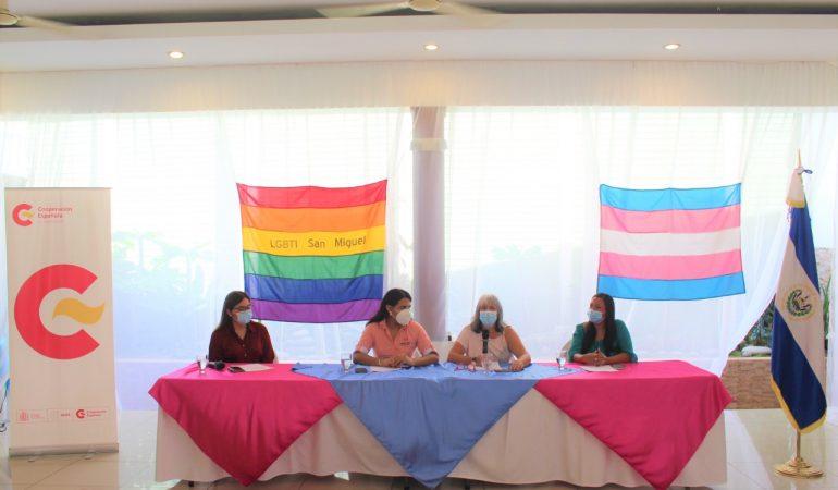 """AECID participa en el Conversatorio """"Presentación de logros por el derecho al desarrollo económico de las personas LGBTI"""""""